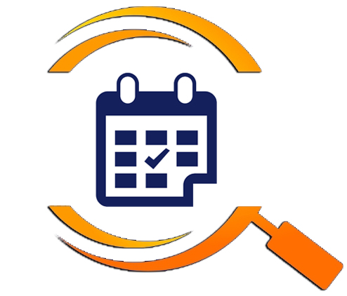 Icon with a calendar to schedule an inspection with our home inspectors